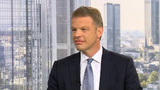 Deutsche Bank CEO Sewing on Capital Deployment, Cost Cuts, Global Business