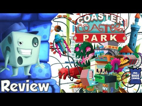 Coaster Park Review - with Tom Vasel