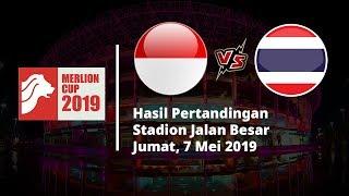 Hasil Merlion Cup, Kalah atas Thailand, Timnas Indonesia U-23 Gagal Melaju ke Final