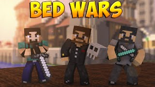 Minecraft Bed Wars #25 - Один раскидал двоих!