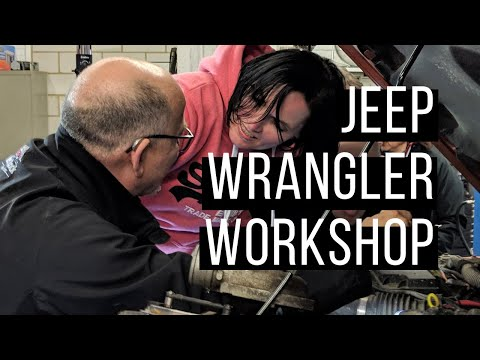 Jeep Wrangler Workshop II - Reparaturen im Gelände
