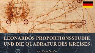 Leonardos Proportionsstudie und die Quadratur des Kreises