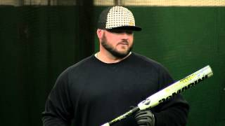 Chris Larsen Swings the 2014 DeMarini Stadium 2.1