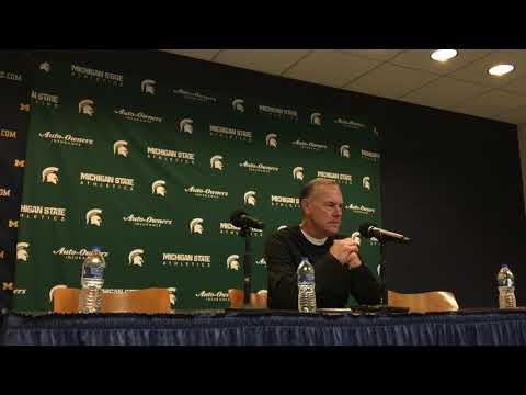 Mark Dantonio on blowout loss at Michigan