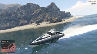 GTA 5 Online - Lập Team Đi Cướp Thuyền và Máy Bay của Cảnh Sát