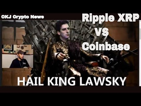 Ripple XRP vs Coinbase the WAR Continues. We have the LAW on our side. CKJ Crypto News