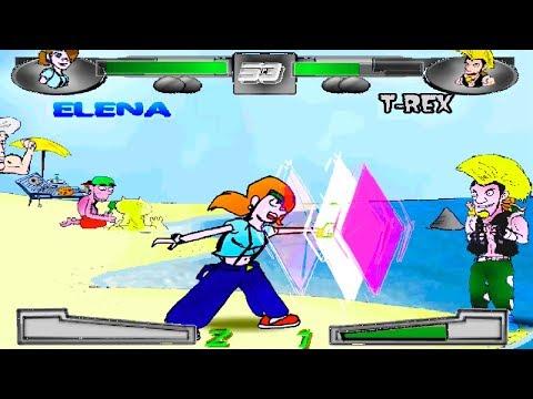 2D Fighter Maker FREE Game Engine!