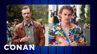 """Justin Bieber Is Channeling Boyd Holbrook's """"Narcos"""" Character  - CONAN on TBS"""