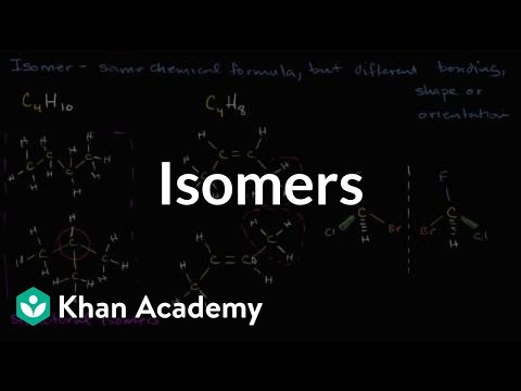 Isomers structural, geometric  more (video) Khan Academy