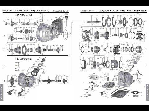 Ремонт акпп - Audi 80