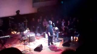 Lou Reed memorial 6 Antony sings  CANDY  SAYS  w/a mourning coda with guitarist  Mark Ribot