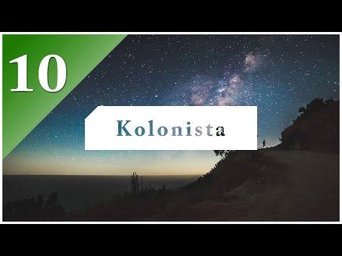 Kolonista - E10   Poslední budovy z Minecolonies a začátek industrializace  