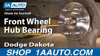 How to Replace Wheel Bearing & Hub Assembly 98-03 Dodge Durango