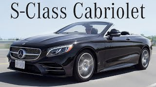 2018 Mercedes S560 Cabriolet Review   Ultra Luxury Drop Top