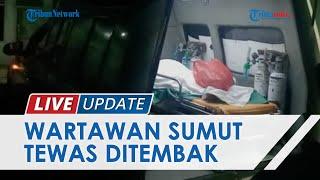 Wartawan Media di Pematangsiantar Tewas Ditembak OTK, Korban Ditemukan Bersimbah Darah di Mobil