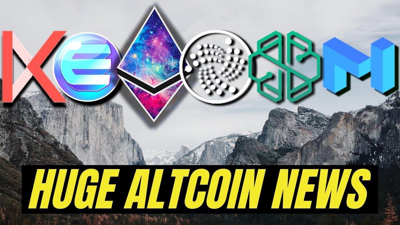 MAJOR CRYPTO NEWS | IOTA 2.0, Ethereum 2.0, Enjin, Swissborg, Kava, Matic Network #Ethereum #ETH
