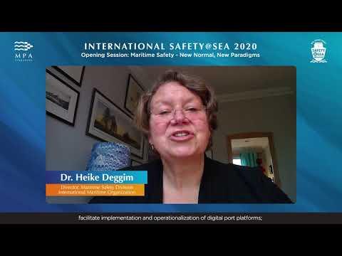 Keynote Presentation by Dr. Heike Deggim, Director, Maritime Safety Division, IMO