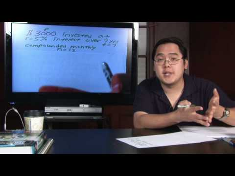Video Math in Daily Life : How to Calculate Compound Interest