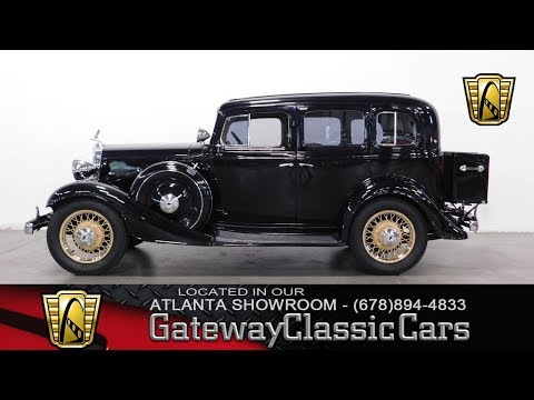 1933 Chevrolet Sedan for Sale - CC-1039159