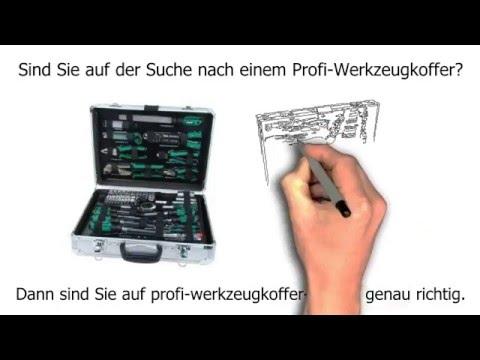 Profi Werkzeugkoffer im Test. Vergleich der besten Profi Werkzeugkoffer