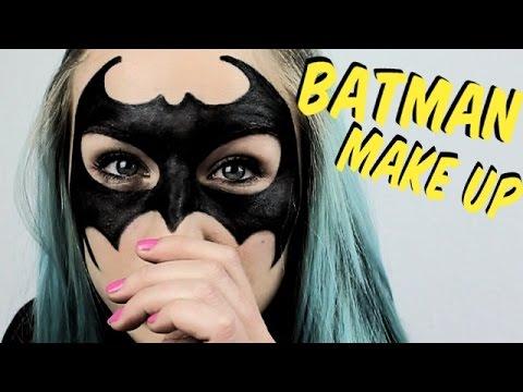 BATMAN MAKE UP Tutorial | Karneval Inspiration #Bonnytrash