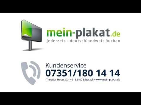 Video Anleitung für mein-plakat.de So funktioniert Plakatwerbung bei mein-plakat.de
