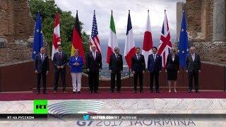 Лидеры стран G7 подписали декларацию по борьбе с терроризмом