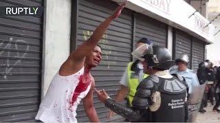 В Венесуэле протесты оппозиции переросли в столкновения с полицией