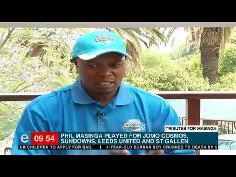 We talk to Phil Masinga's Masinga's former teammate at both club and national level, Lucas Radebe