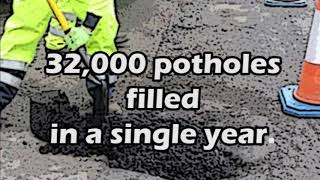 Potholes in Hereford