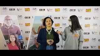 Rosa de Souza no 5º Congresso Nacional da CTB