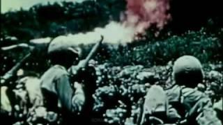 1945 Just Declassified!  6th Marine Div. Uncensored Film: Okinawa - 5 of 6