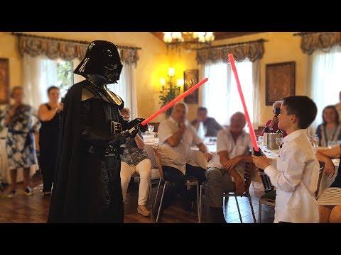 Comuniones Star Wars con Photocall