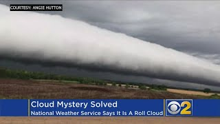 Ominous Formation Identified As Rare 'Roll Cloud'