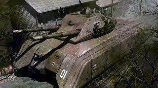 Największy Czołg Świata i III Rzeszy Landkreuzer P-1000 Ratte