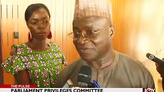 Parliament Privileges Committee - The Pulse on JoyNews (22-6-18)