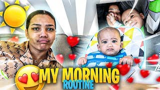 Morning Routine with 5month old BabySyx!