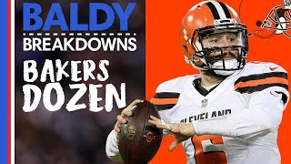 Analyzing Baker Mayfield's Top 13 Throws of 2018 | Baldy Breakdowns