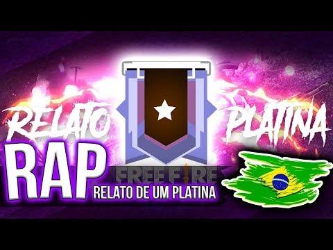 RAP - RELATO DE UM PLATINA - FREE FIRE | BLACKSAGARO