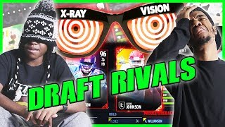 HE HAS X-RAY VISION! CRAZY BLINDFOLD DRAFT! - MUT Wars Ep.90 | Madden 17 Ultimate Team