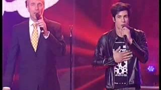 Mateo Iturbide - Spaghetti del Rock  - etapa en vivo La Voz Argentina 28-10