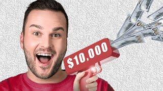 $10,000 Money Gun (MAKIN' IT RAIN $100 BILL$)
