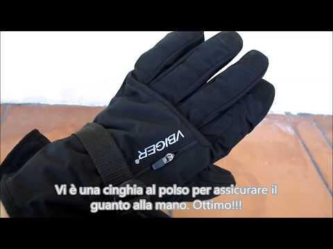 Guanti invernali da neve - sci, per uomo Vbiger