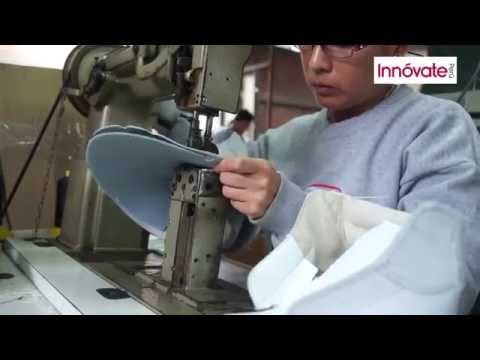 Usan novedoso sistema tecnológico para fabricar calzado de seguridad industrial