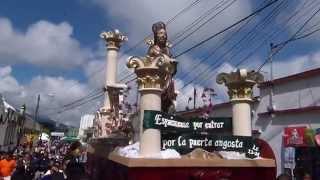 preview picture of video 'Procesión de San Lucas Evangelista - Octubre 2,014'