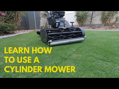 Learn How To Use A Cylinder Mower