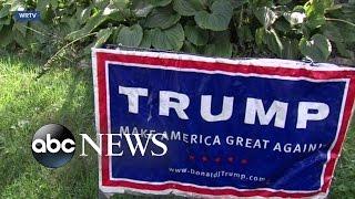 Trump Sign Thief Learns Karma Comes Swiftly