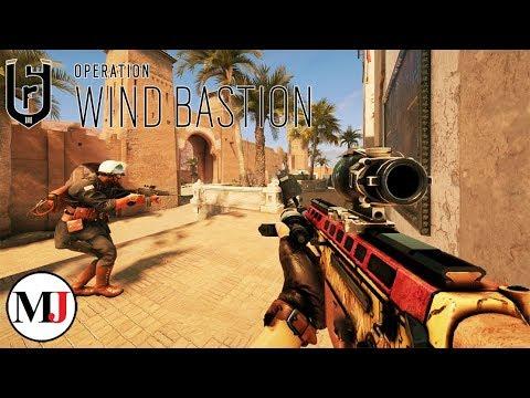 NEW! Operation Wind Bastion Gameplay: Nomad & Kaid - Rainbow Six Siege