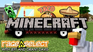 Grant and Jeff build a TACO TRUCK in Minecraft - The Dojo (Let's Play)