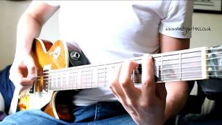 AC/DC TNT Guitar Tutorial - Minor Pentatonic Song #5